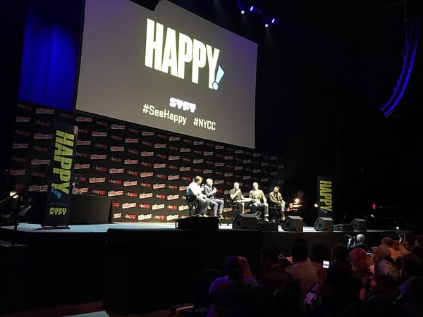 First Impressions Of Syfy's 'Happy!' Pilot And More From NYCC 2017