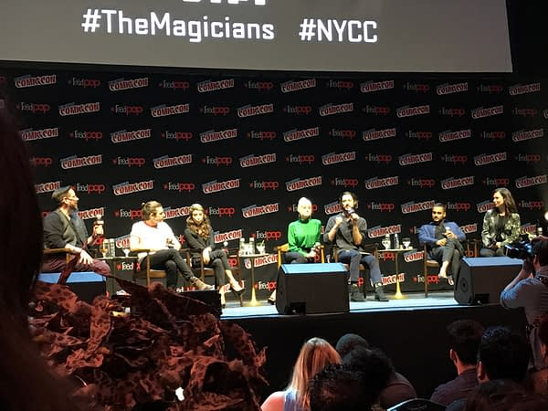 'The Magicians': A Frank, Emotional Talk About Trauma And Mental Illness At NYCC