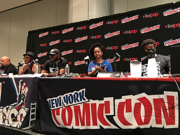 Black Heroes Matter Panel NYCC 1