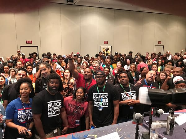 Black Heroes Matter Panel NYCC 3