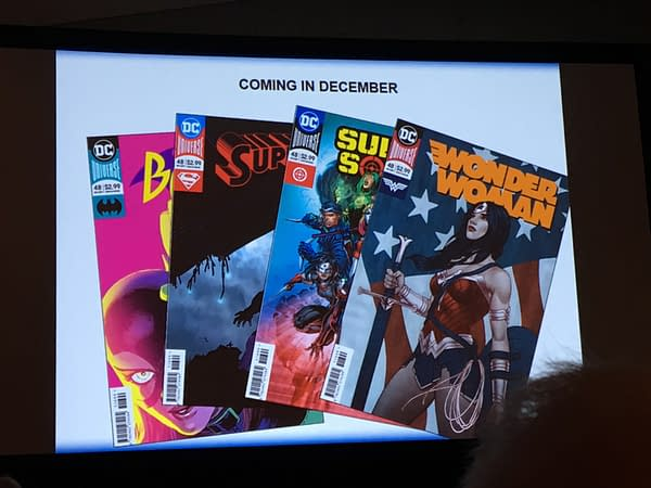 DC Comics Drops The Rebirth Tag And Bring Back The Corner Box From December