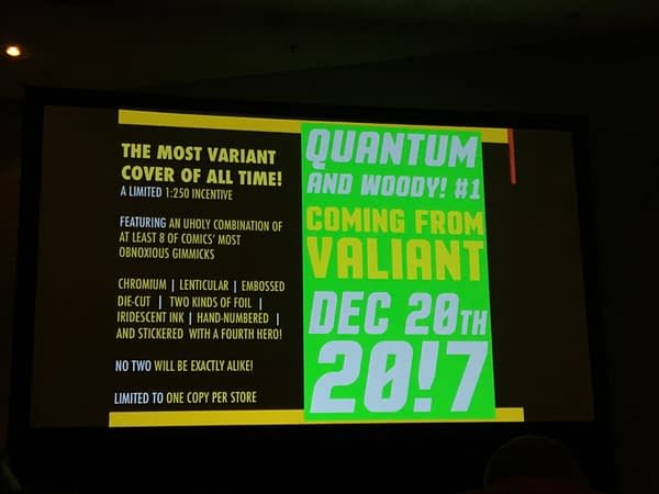 Valiant Comics To Challenge CGC's Classification System With 'Quantum & Woody' Variant Variants