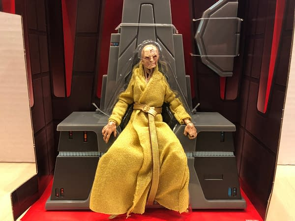 Star Wars Black Series Snoke 4