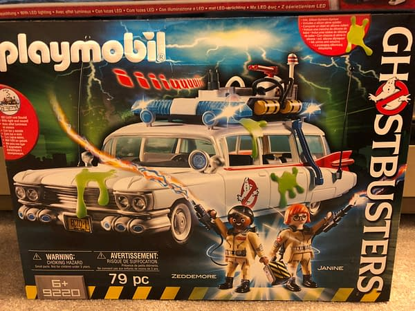 Playmobil Ghostbusters Ecto-1 1
