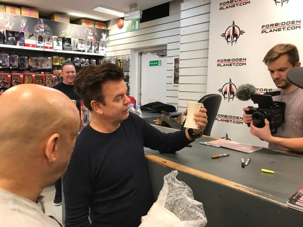 Paul Oakenfold Signs His New Comic at Forbidden Planet London – and Here's a Preview