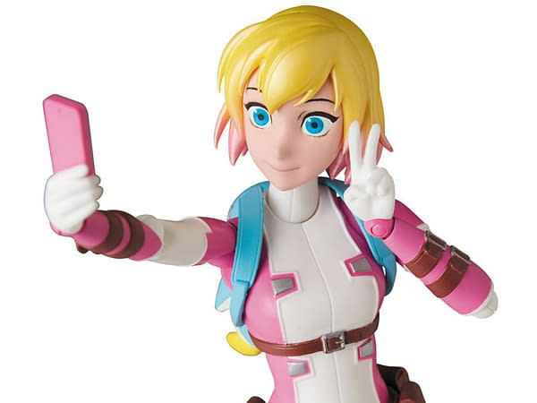 Gwenpool Lives on in New MAFEX Figure in September