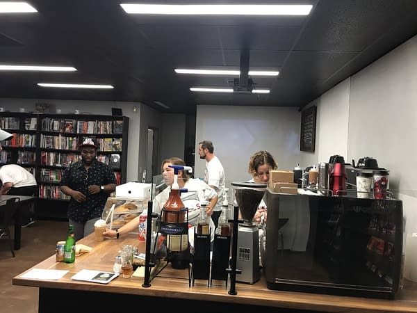 Photos: The Californian Coffee and Comic Shop That Opened Last Year