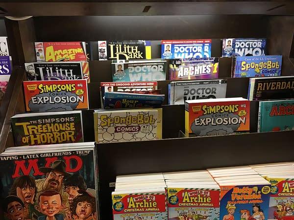 DC Comics Leaves Barnes & Noble Newsstands