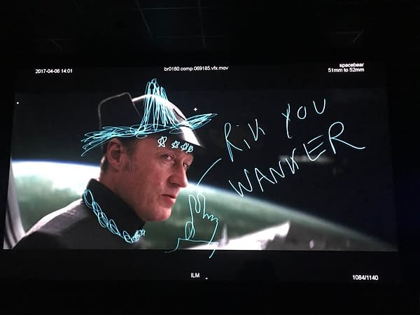 When Rian Johnson Cast Vyvyan Basterd in Star Wars: The Last Jedi