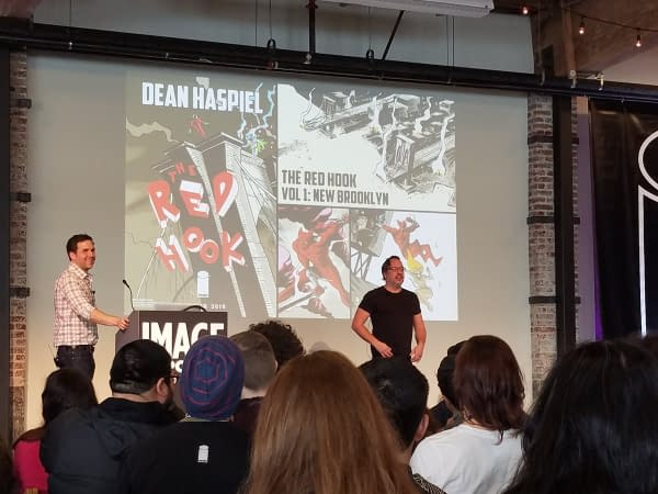 Dean Haspiel's Red Hook to be Published by Image Comics