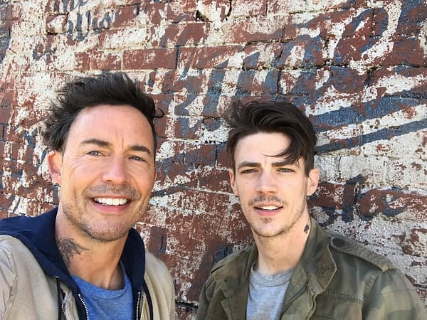 The Flash's Grant Gustin and Tom Cavanagh Play Idiots in New Short Film