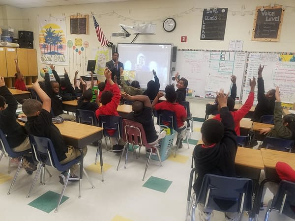 See Christopher Daniels, More ROH Wrestlers Read to Kids for NEA's Read Across America Day