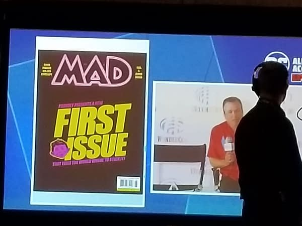 Mad Magazine's New Look Revealed at #WonderCon 2018