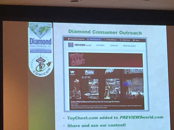 Diamond Comic Distributors is Making Changes to the Way it Does Business