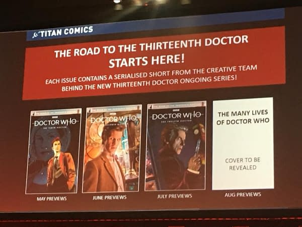 Titan to Publish The Road to the Thirteenth Doctor Who Comic