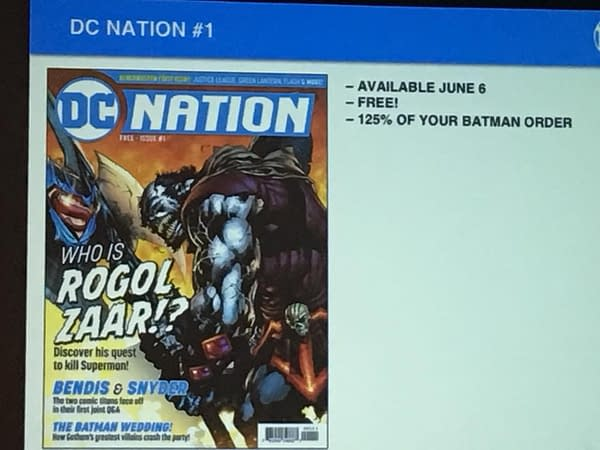 A Sneak Peek at DC Nation #1 and #2