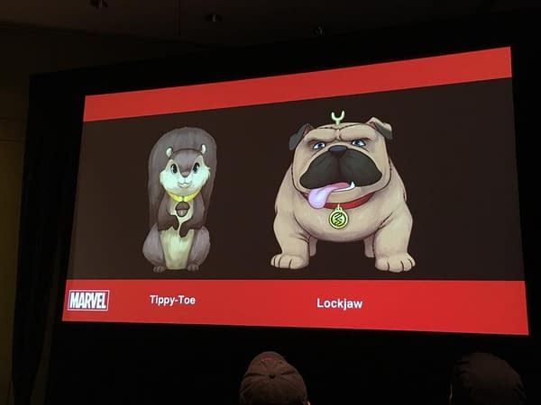Marvel Introduces Lockjaw and Tippy-Toe to Marvel Rising