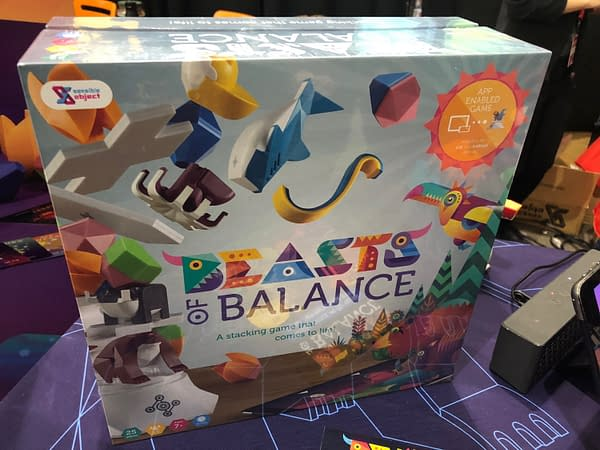 Survival of the Fittest Platform Stacker in Beasts of Balance