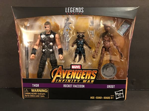 Marvel Legends Infinity War TRU Exclusive Three Pack 1