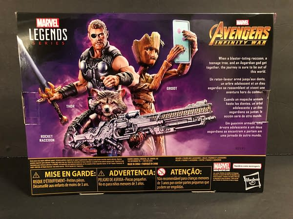 Marvel Legends Infinity War TRU Exclusive Three Pack 2