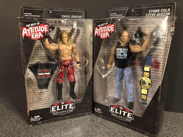 Mattel Best of Attitude Era WWE Elite Figures 1