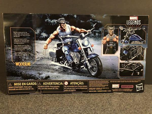 Marvel Legends Wolverine and Bike 2