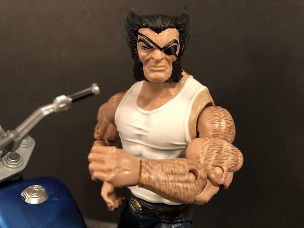 Marvel Legends Wolverine and Bike 10