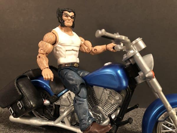 Marvel Legends Wolverine and Bike 11