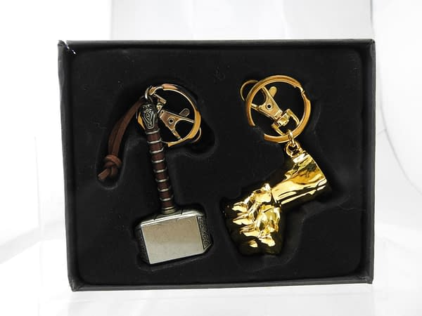Monogram SDCC Exclusive Thor and Hulk Keyring Set