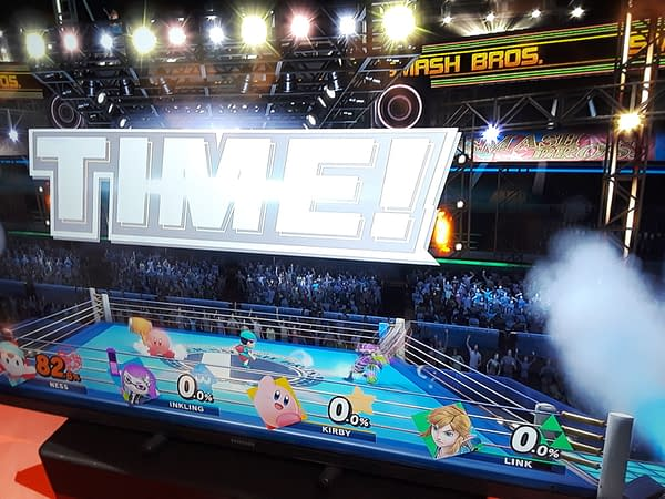 Bleeding Cool Played Super Smash Bros. Ultimate and Got Beat Up [SDCC]