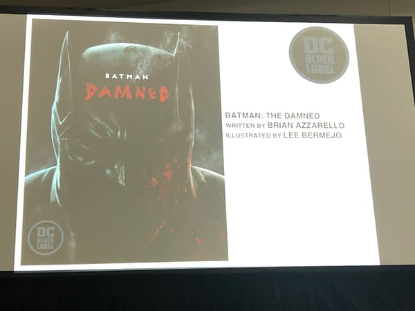 Sneak Peek Inside DC Black Label's Batman: Damned and Superman: Year One