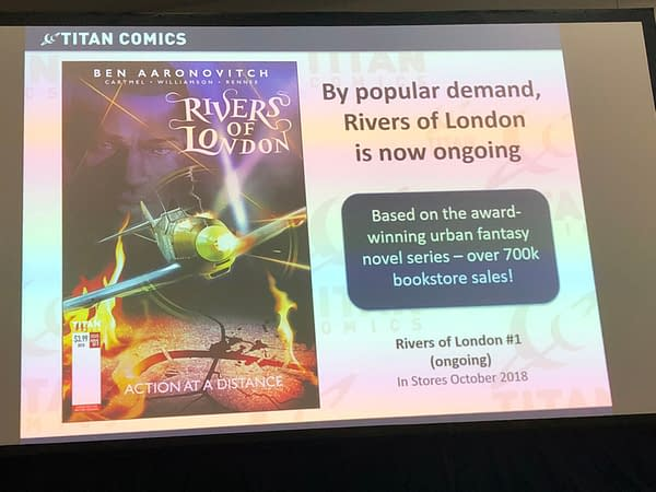 Tank Girl Gets First-Ever Ongoing Series, 'Rivers of London' Too, from Titan at the Retailer Lunch
