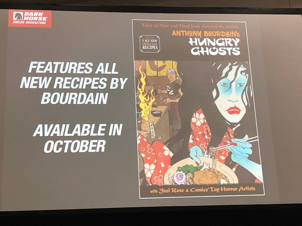 New Recipes in Anthony Bourdain's HungryGhosts Collection from Dark Horse/Berger Books