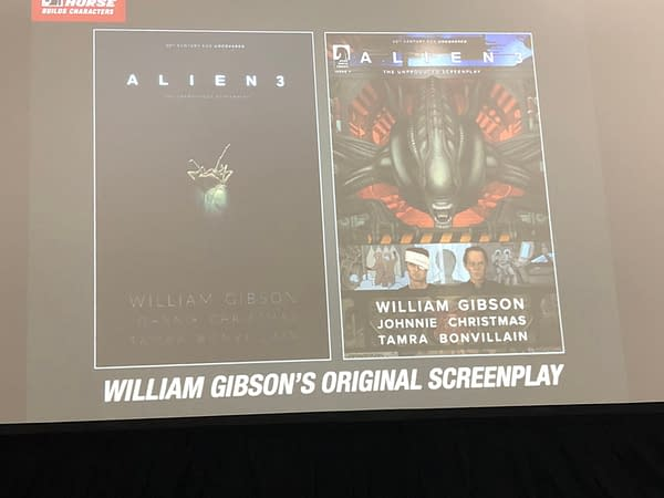 Get a Sneak Peek at What Alien 3 Should Have Been in First Page from Comic of William Gibson's Screenplay