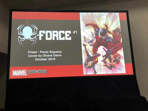 Marvel Announces Spider-Girls by Jody Houser and Andres Genolet, Spider-Force by Christopher Priest and Paulo Siqueira