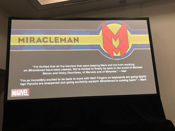 Marvel Confirms New Miracleman by Neil Gaiman and Mark Buckingham for 2019