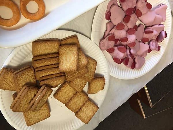 Terry Wiley, Pink Elephants and Custard Creams