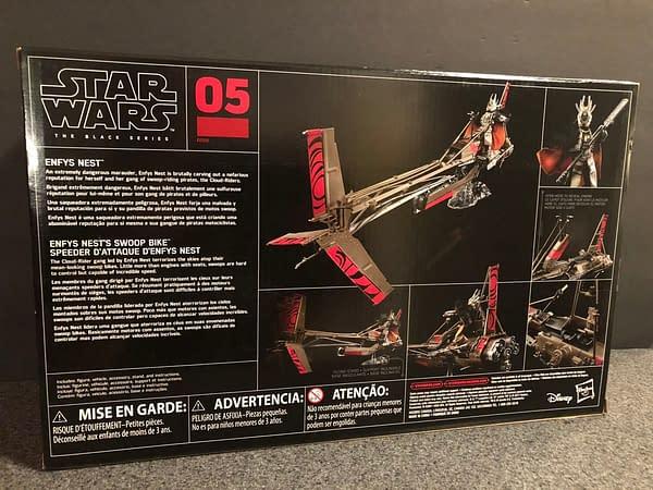 Star Wars Black Series Enfys Nest and Bike 3
