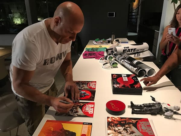 First Look at Vin Diesel's Bloodshot – Logo and Synopsis Revealed for Paul Walker Charity Fundraiser