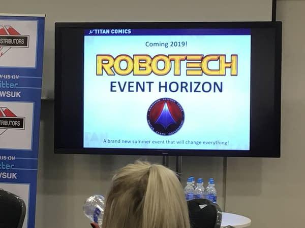 Titan Comics Announce Robotech Event For Summer 2019