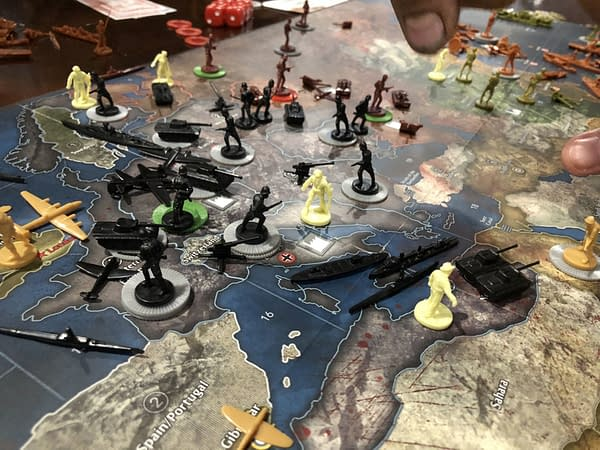 Bloody Revisionist History: We Review Axis & Allies & Zombies