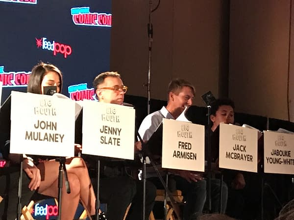 The Cast of Netflix's Big Mouth Read Through the First New Episode at NYCC