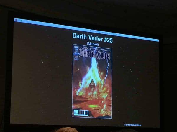 Darth Vader 25 Cover NYCC Slide