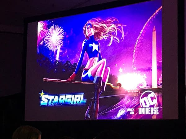 Geoff Johns Hints About The Future of Stargirl And (Possibly) Seeing Nightwing