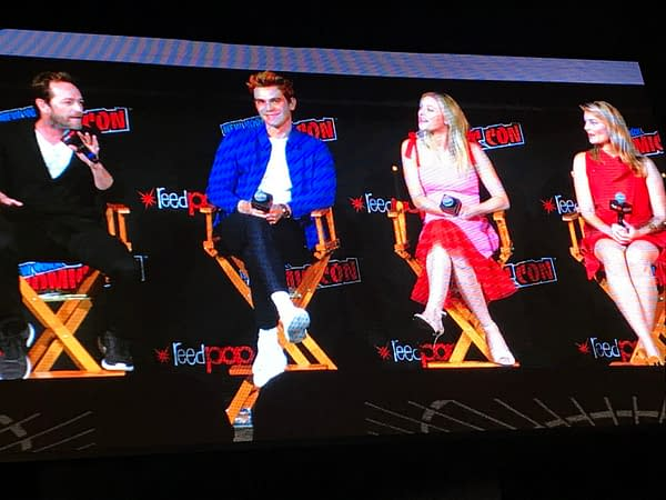 Casting Jughead's Mom and More At NYCC's Riverdale Panel
