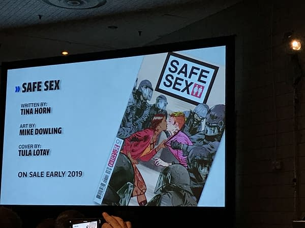 Vertigo's Goddess Mode, Hex Wives, Lucifer, High Level and Safe Sex Previewed at NYCC Panel