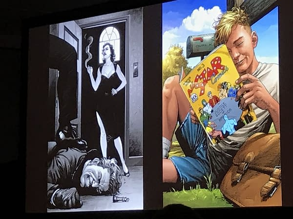 A Look Ahead at Doomsday Clock #10 Covers From New York Comic Con