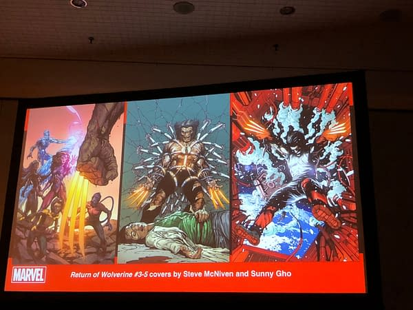 Uncanny X-Men #8-10 Covers Shown Off at NYCC – a New Fall of The Mutants?