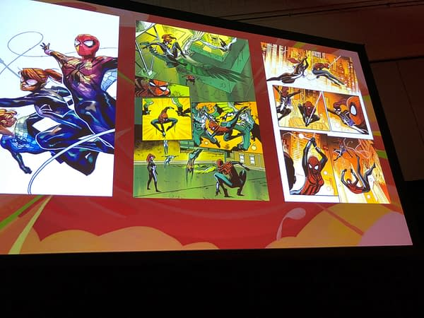 A Look Inside Spider-Girls and Runaways at the Women In Marvel Panel at NYCC