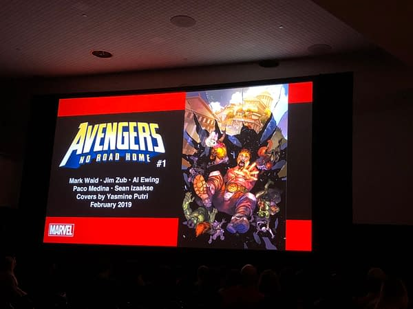 No Road Home: No Surrender Creators Reunite for Weekly Avengers Sequel in February